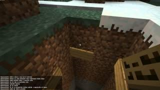 Minecraft Tutorial - Kako Napraviti Tajnu Bazu -CROATIAN TUTORIAL-