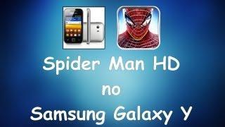 Tutorial Galaxy Y - Baixando E Instalando Spider Man HD [português]