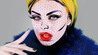 Pop Art Transformation! - Andy Warhol/Roy Lichtenstein Comic Book Tutorial