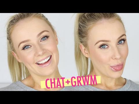 Chat With Me / GRWM: Life Updates & Embarrassing Stories! | Lauren Curtis