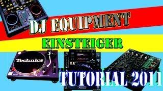DJ ANFÄNGER EQUIPMENT TUTORIAL - SOFT-&HARDWARE - German / Deutsch - DJ CONDOR