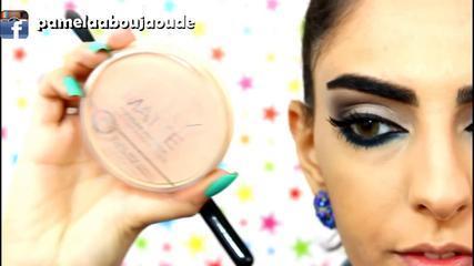 Smokey Eyes For Everyday Makeup Tutorial :مكياج سموكي يومي ناعم