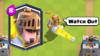 ULTIMATE Clash Royale Funny Moments, Fails, Glitches, Trolls Compilation #9