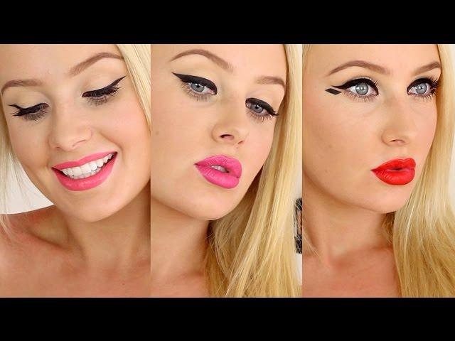 How To Apply EYELINER + Graphic Liner! (ONE BRAND)