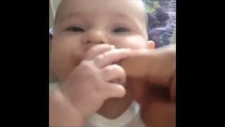 Funny Baby Video | cute baby finger song  ★ 7 second FUNNY Videos
