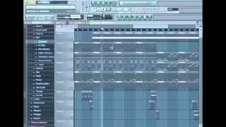 Fl Studio 10 Hip Hop Rap Tutorial (Turkish Beat) Dj Musaneter1