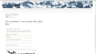 Autolike For Facebook Page/Status