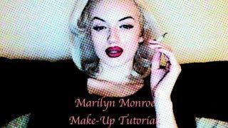 Marilyn Monroe Make-Up Tutorials; Lipstick