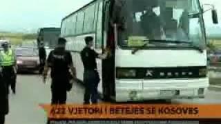 Policia Kosovare Arreston Disa Serb Provokator Ne Kosove [eCity.tk]