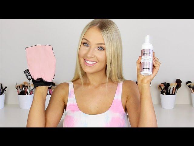 My Updated FAKE TANNING Routine!