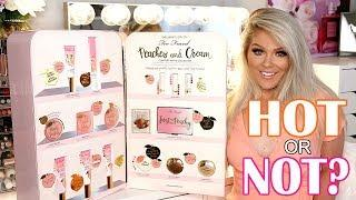 NEW TOO FACED PEACHES & CREAM COLLECTION | TUTORIAL & REVIEW
