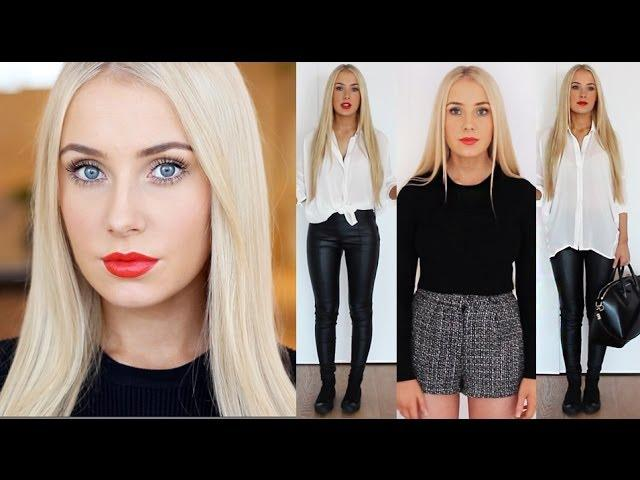 QUICK, Light Makeup & OUTFIT IDEAS for Summer/Winter!