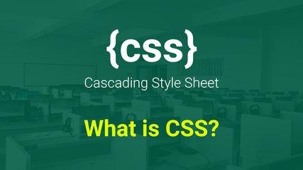 What is CSS? Part: 1 Tutorial in Urdu and Hindi