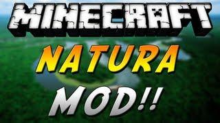 Minecraft 1.6.4- Review De Natura MOD - ESPAÑOL TUTORIAL
