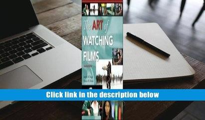 [PDF]  The Art of Watching Films with Tutorial CD-ROM Joe Boggs Full Book