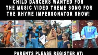 HIP-HOP PROMO #5, 04/26/2014 CHILD AUDITIONS FOR MUSIC VIDEO FOR THE RHYME IMPERSONATOR SHOW!