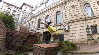 10 Year Old  - Parkour/Freerunning In Bulgaria  - Amazing Must See!!