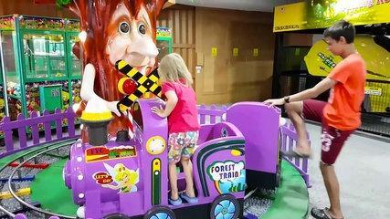 Funny Kids play Indoor Playground Fam