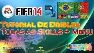 FIFA 14 - Tutorial De Todas As Skills (Tutorial Interativo Rápido + Menu)   PORTUGUÊS
