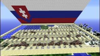 ♫ Minecraft - SLOVENSKÁ Hymna Noteblock Verzia