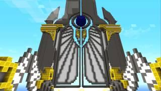 Minecraft Timelapse Megabuild: Gate Of The Gods