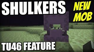 Minecraft PS4 - SHULKERS / BOXES - TU46 FEATURE - Tutorial ( XBOX / PS3 / WII U )