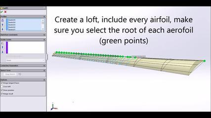 SolidWorks Tutorial: How To Make A Whale Inspired Wind Turbine Blade, HD
