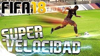 FIFA 18 - COMO CORRER SUPER RÁPIDO   TUTORIAL Y TRUCO