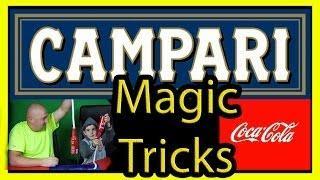 Genie In A Bottle Cocacola Tutorial Campari Magik Tricks Experiment