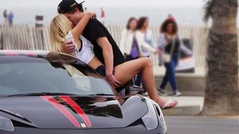 Kissing Prank 2015