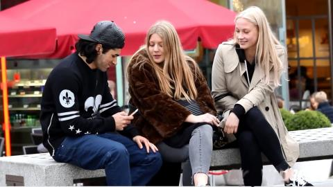 Getting 100 Girls Numbers in 1 Day - London Girls Social Experiment