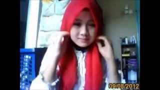 Tutorial Tudung Bawal Merah Gaya Nora Danish | Tutorial Hijab Modern | Hijab Fashion