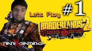 Borderlands 2 - Scarletts Booty Episode 1 Part 1/2 -- Tittie Milk!!!