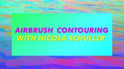 BSD ACADEMY: Airbrush Contouring Makeup Tutorial With Nicola Schuller   MTV