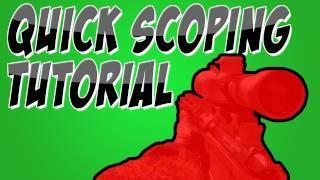 MW3: How To Quick Scope In Modern Warfare 3 Tutorial
