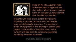 Aquarius turn ons   How to seduce Aquarius?