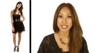 Fashion Advice : The Best Little Black Dresses For Apple Shaped Women