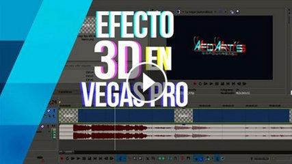 TUTORIAL EFECTO 3D (Twitch) EN UN VIDEO - SONY VEGAS PRO