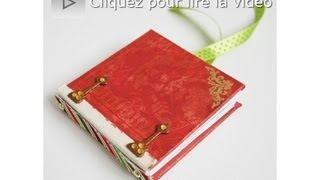 Atelier Scrapbooking Tutoriel Mini Album Technique Français