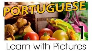 Learn Brazilian Portuguese With Pictures - Get Your Vegetables!