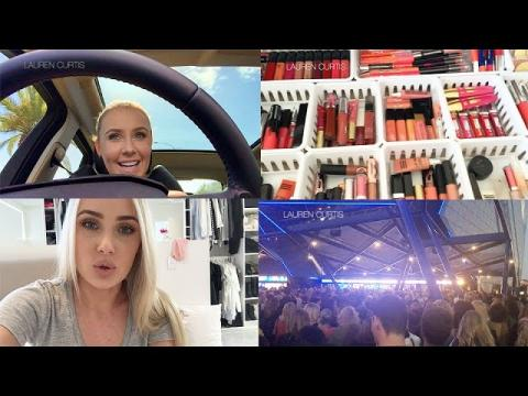 Follow Me Around: NEW MAKEUP STORAGE, SEEING OPRAH, ROAD RAGE! | Lauren Curtis