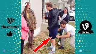 TRY NOT TO LAUGH or GRIN: Funny Fails Compilation 2017 - Best Funny Pranks Videos Ever!