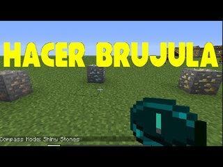 Como hacer una brujula en Minecraft tutorial para novatos