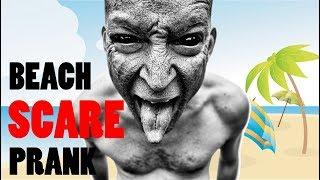 FUNNY INDIAN VIDEOS   BEACH SCARE PRANK   FUNNY VIDEOS   PRANKS IN INDIA    THE TURBAN TRICKERS7
