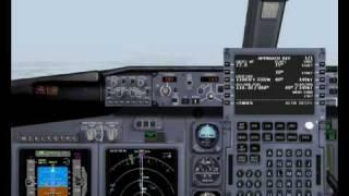 How To Use Boeing 737's FMC, Tutorial In Romanian,part 2