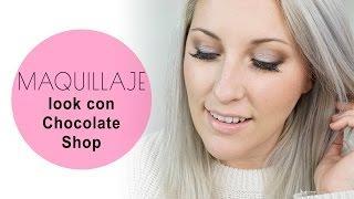 Probando probando -  tutorial de maquillaje Chocolate Shop de Too Faced