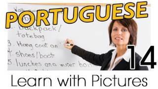 Learn Brazilian Portuguese With Pictures -- Brazilian Portuguese Job Vocabulary
