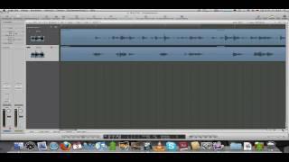 Logic Pro 9 Tutorial Deutsch No1 - Anfangen, Audiospuren, Clip