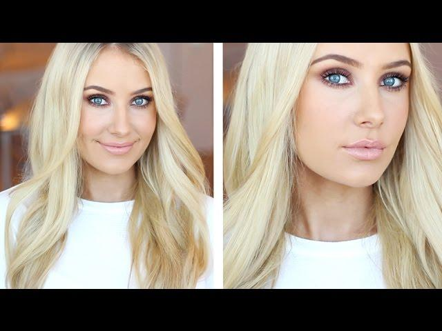 CHAT & Get Ready With Me | Smokey Daytime Look!