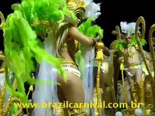 How Carnival Celebrities Placed At Parade Floats: Brazilian Carnaval